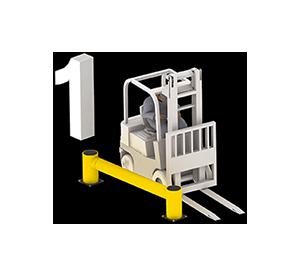 Les avantages des barrières amortissantes - Avant l'impact - Barriere-industrielle.fr