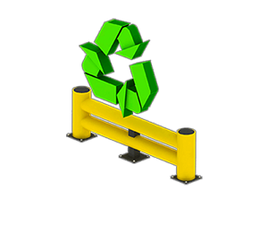 Les avantages des barrières amortissantes - Recyclable et faible empreinte écologique - Barriere-industrielle.fr